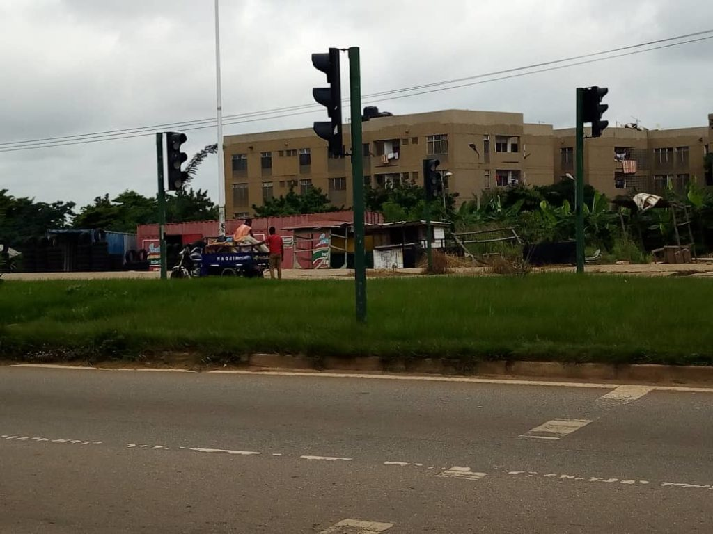 traffic and to secure the safety of pedestrians crossing the dual carriage to Kwadaso- Tepa and Bibiani high-ways.