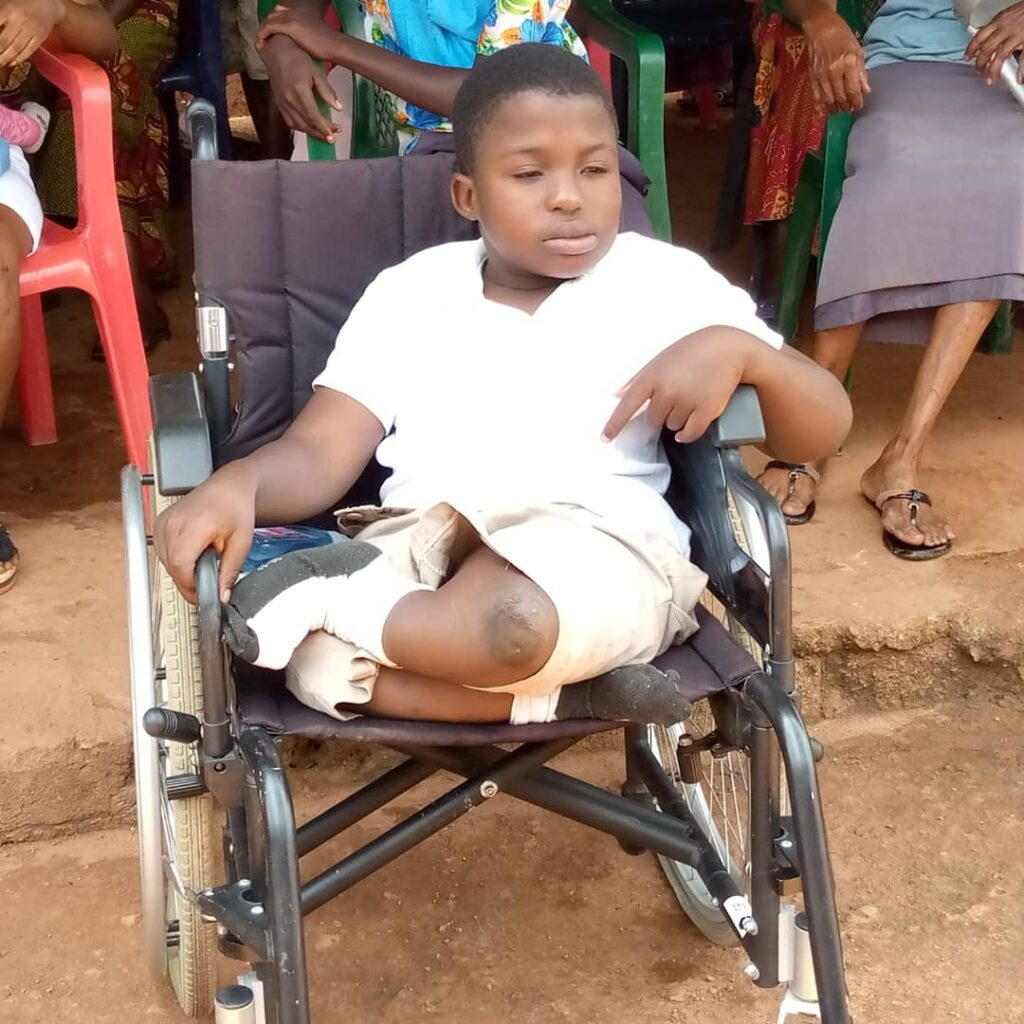 Physically-challenged persons appeal for government's assistance